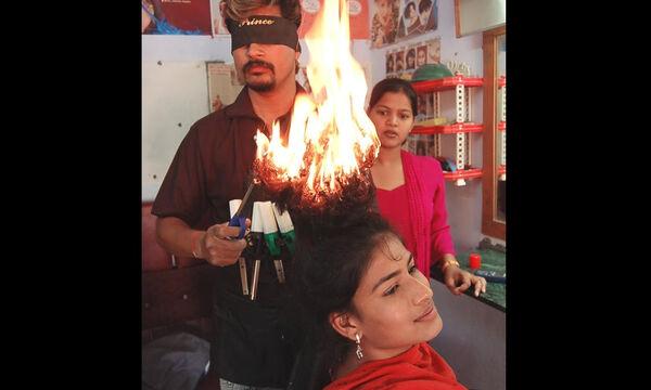 Τέτοιο κούρεμα …φωτιά δεν έχετε ξαναδεί (vid)