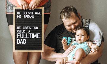 Μαμά μας εξηγεί γιατί ο σύζυγός της είναι ο ιδανικός σύντροφος και πατέρας (pics)