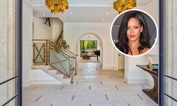 Rihanna: Φωτογραφίες από εντυπωσιακό σπίτι της στο Hollywood (pics)