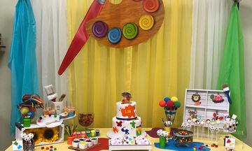 Art party: Ιδέες για το πάρτι γενεθλίων του μικρού σας καλλιτέχνη (pics)