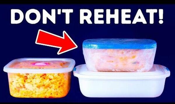 Προσοχή: Μην βάζετε αυτά τα φαγητά στον φούρνο μικροκυμάτων (vid)