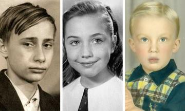 Δείτε πώς ήταν 10 ισχυροί άνθρωποι του πλανήτη σε παιδική ηλικία - Δεν θα τους αναγνωρίσετε (vid)