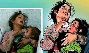 Τα σκίτσα που δείχνουν πώς θα ήταν ο κόσμος μας χωρίς πολέμους είναι συγκλονιστικά (pics)