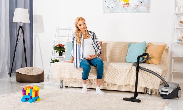 Ποιες δουλειές του σπιτιού να αποφύγετε κατά τη διάρκεια της εγκυμοσύνης