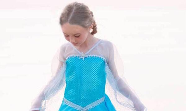 «Βασίλισσα του πάγου» : Υπέροχη αποκριάτικη στολή για κορίτσια
