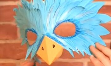 DIY : Φτιάξε μόνη σου μια φανταστική μάσκα για τις απόκριες