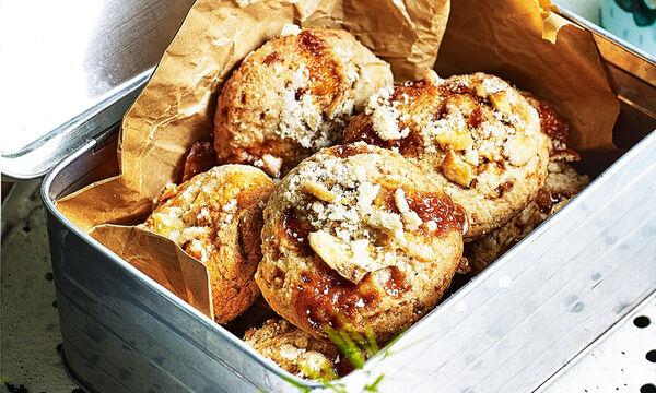 Τραγανά μπισκότα banoffee (vid)