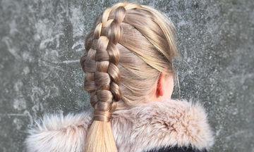 Δείτε πώς θα φτιάξετε κι εσείς τη zipper braid στις κόρες σας (vid+pics)