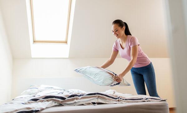 Σεντόνια, στρώμα, μαξιλάρια: Τόσο καιρό τα καθαρίζατε λάθος