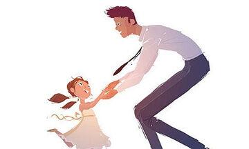 Μπαμπάς περιγράφει τη σχέση ζωής με την κόρη του μέσα από σκίτσα (pics)