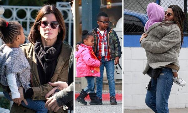 Sandra Bullock: Τα άγνωστα πράγματα που δεν γνωρίζετε για τα παιδιά της  (vid)