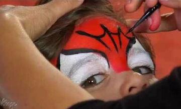 Spiderman: Αποκριάτικο face painting για αγόρια (vid)