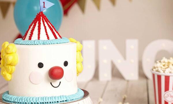 Κλόουν: Ιδέες για να διακοσμήσετε την τούρτα γενεθλίων του παιδιού σας (pics)