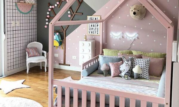 Δεκαπέντε υπέροχα και φωτεινά κοριτσίστικα υπνοδωμάτια (pics)