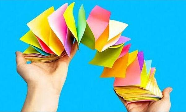 22 χάρτινες χειροτεχνίες που θα ενθουσιάσουν τα παιδιά! (vid)