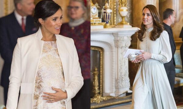 Meghan Markle & Kate Middleton περπατούν μαζί χαμογελαστές σε ένα βίντεο που γίνεται viral