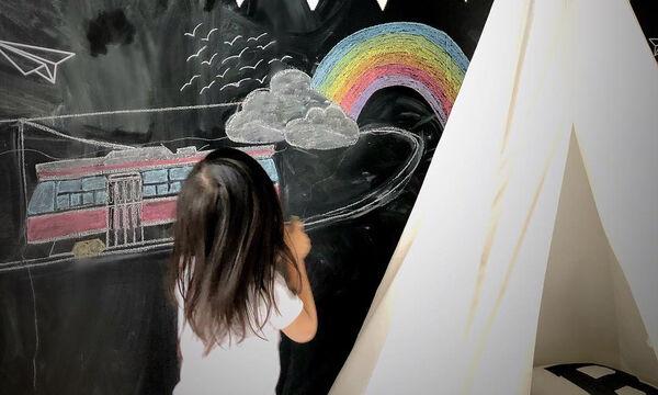 Μαυροπίνακας: Φτιάξτε μια γωνιά έκφρασης και δημιουργίας στο παιδικό δωμάτιο (pics)