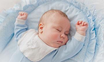 Συμβουλές για να κοιμάται το μωρό σας με ασφάλεια