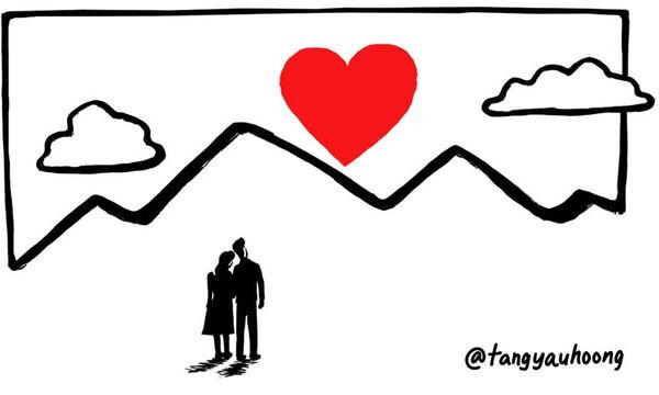 Η αγάπη είναι παντού και αυτά τα σκίτσα αποτελούν την πιο καλή απόδειξη (pics)