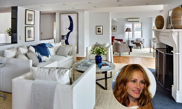 Julia Roberts: Είδαμε το σπίτι της στο Greenwich και εντυπωσιαστήκαμε! (pics)