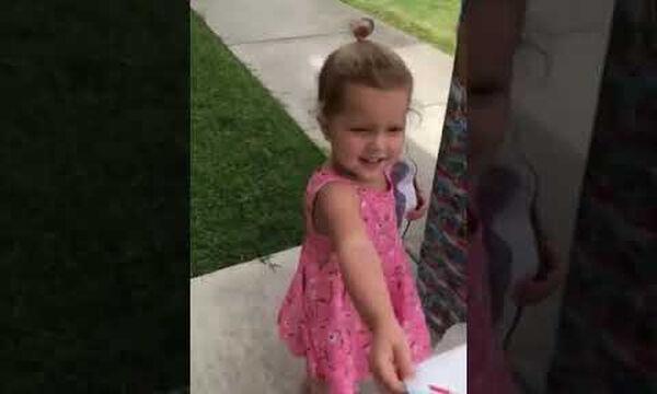 Δείτε την απίστευτη έκπληξη που έκανε ένας μπαμπάς στην κόρη του (vid)