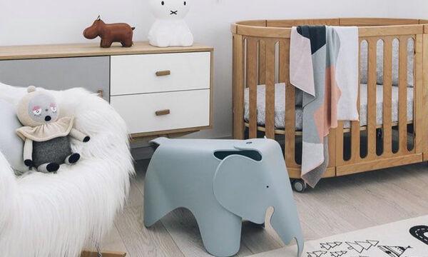 Παιδικό δωμάτιο: Διακοσμήστε το με ελεφαντάκια (pics)