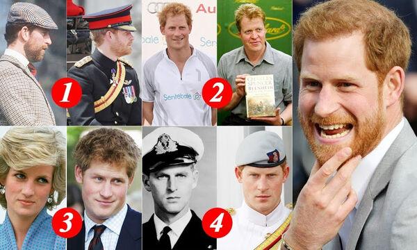 Πρίγκιπας Harry: Δείτε με ποιο μέλος της βασιλικής οικογένειας μοιάζει εκπληκτικά (vid)
