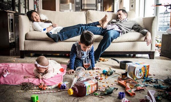 Το χάος σε ένα σπίτι με παιδιά είναι πραγματικό και ιδού οι φωτογραφικές αποδείξεις (pics)
