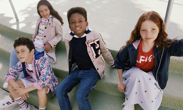 O Tommy Hilfiger παρουσιάζει την παιδική καμπάνια για την άνοιξη 2019