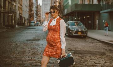 Ζει στη Νέα Υόρκη και περιμένει δίδυμα - Δείτε πόσο στιλάτη είναι και πόσο το απολαμβάνει (pics)