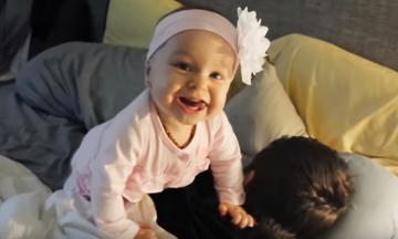 Δείτε πώς αυτά τα μωρά ξυπνούν τους μπαμπάδες τους (vid)