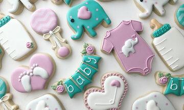 Λαχταριστά μπισκότα για το πάρτι του μωρού σας (pics)