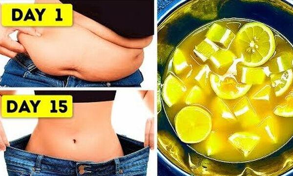 Απώλεια βάρους: Πίνετε νερό με λεμόνι για 30 ημέρες και δείτε τι θα συμβεί στο σώμα σας (vid)