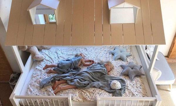 Φτιάξτε μόνοι σας το κρεβάτι για το παιδικό δωμάτιο - Εντυπωσιακές ιδέες (pics & vid)
