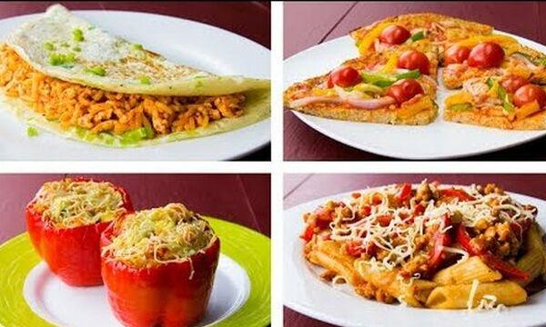 4 υγιεινές συνταγές δείπνου για να χάσετε βάρος (vid)