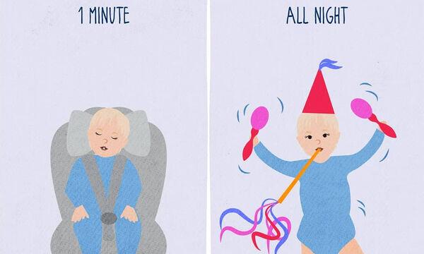 Τα συναισθήματα μιας μητέρας μέσα από κόμικς (pics)