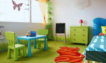 Παιδικό δωμάτιο στις αποχρώσεις του πράσινου – Ιδέες διακόσμησης (pics)