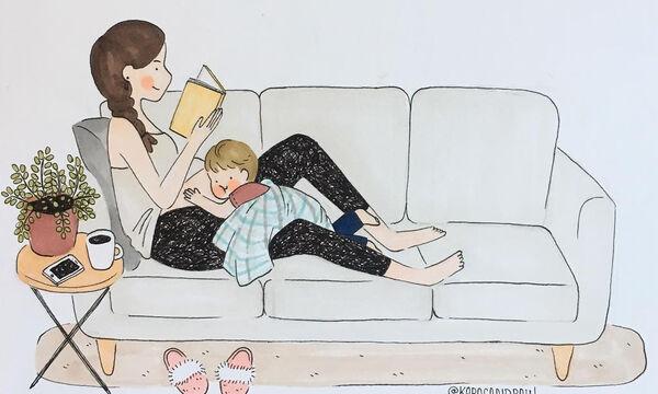 Περιμένοντας το δεύτερο παιδί - Η ζωή μέσα από ξεκαρδιστικά σκίτσα (pics)