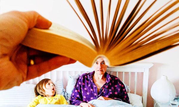 Η οικογένεια Rogerson αγαπάει τα βιβλία και αυτές οι φανταστικές φωτογραφίες το αποδεικνύουν! (pics)