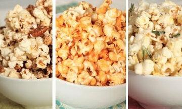 Συνταγές για popcorn: 3 γευστικές παραλλαγές που θα λατρέψουν τα παιδιά! (vid)