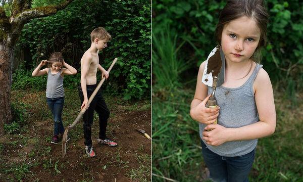 Δείτε τι καλλιεργούν στον κήπο τους αυτά τα παιδιά (pics)