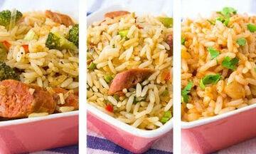 Δίαιτα με ρύζι: 3 υγιεινές συνταγές που θα σας βοηθήσουν να χάστε βάρος (vid)