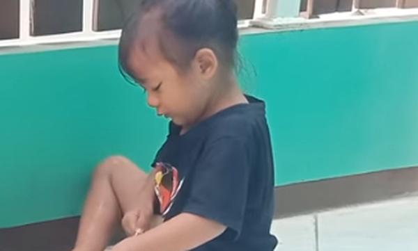 Δεν φαντάζεστε το κατοικίδιο που έχει αυτό το κοριτσάκι και γιατί το περιποιείται με μπατονέτα (vid)