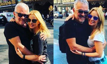 Πέγκυ Ζήνα - Γιώργος Λύρας: Μας δείχνουν πόσο έχει μεγαλώσει η κόρη τους (pics)