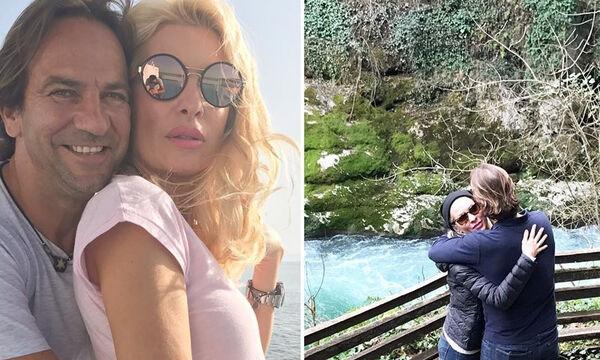 Ελένη Μενεγάκη-Ματέο Παντζόπουλος: Οι νέες φωτογραφίες από τα Άχλα, που θα μαγεύσουν και εσάς