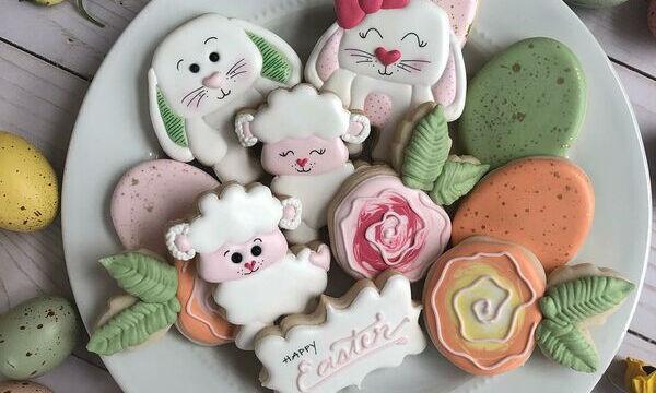 Φανταστικές ιδέες για να διακοσμήσετε τα πασχαλιάτικα μπισκότα (pics)
