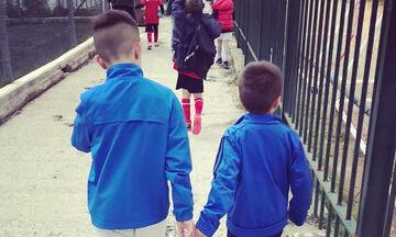 Ο γιος του έβαλε γκολ και ο Έλληνας παρουσιαστής το πανηγύρισε με μια ανάρτηση στο Instagram (pics)