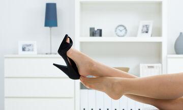Σύνδρομο ψηλά τακούνια: Τι είναι, τι προκαλεί και πώς να το αντιμετωπίσετε (vid)
