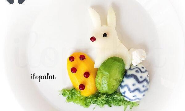 Το Πάσχα στο πιάτο τους: Διακοσμήστε τα πιάτα των παιδιών με φρούτα και λαχανικά (pics)