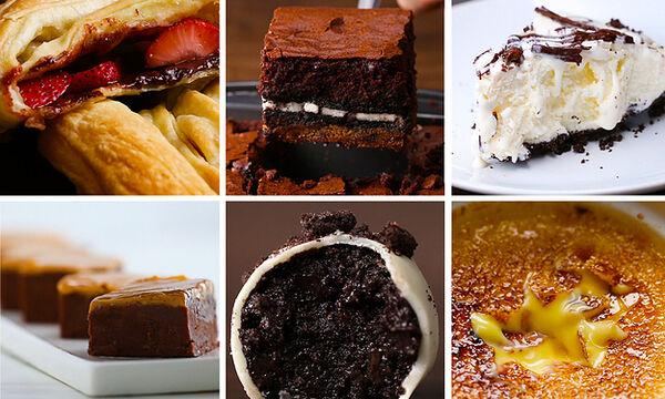 9 πανεύκολες συνταγές για γλυκά με 3 υλικά για να φτιάξετε σήμερα κιόλας (vid)